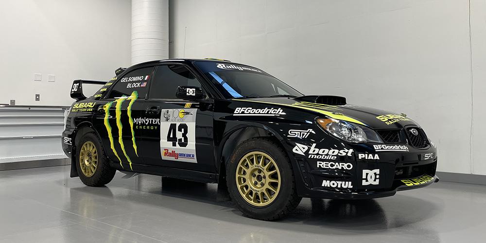 Performance :: Ken Block's 2002 WRX STI Rally Car