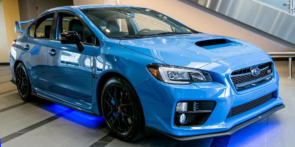Subaru of New England :: 2016 Subaru WRX STI Series Hyper Blue