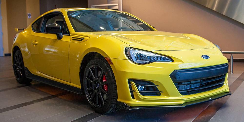 Subaru of New England :: 2017 Subaru BRZ Series Yellow